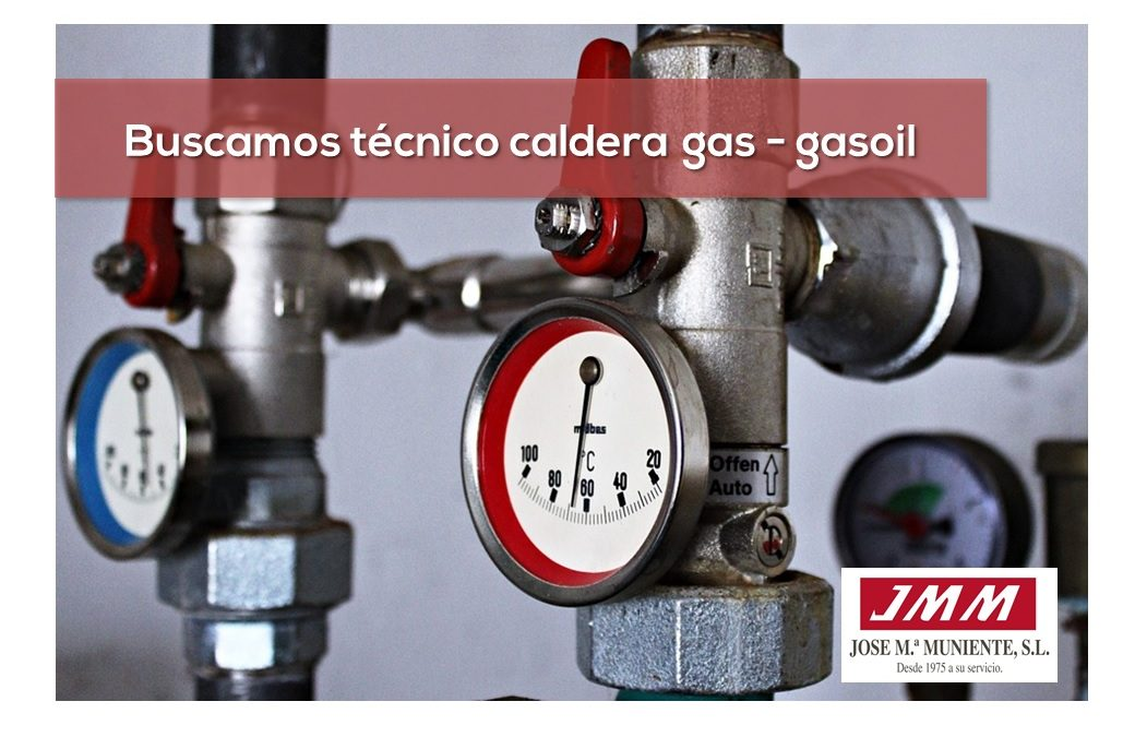 Oferta empleo técnico mantenimiento de calderas